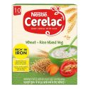 Nestle Cerelac Wheat – Rice Mixed Veg ( 300g, +10 Months)