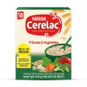 Nestle Cerelac 5 Grains & Fruits ( 300g, +18 Months)