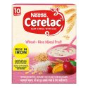 Nestle Ceralac Wheat – Rice Mixed Fruit ( 300g, +10 Months)