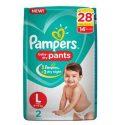 Pampers L – 2 Pants ( 9 – 14 Kg)