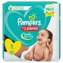 Pampers S – 20 Pants ( 4 – 8 Kg)