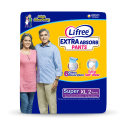 Lifree Adult Pant Style Diaper – XL (35-49 inch, 90-125 cm – 2 Pands)
