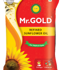Mr. Gold Refined Sunflower Oil – Pouch