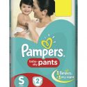 Pampers S – 2 Pants (Up to 5Kg)
