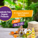 Pesticide Free Organic Products – 21 Products Combo Pack 01