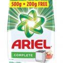 Ariel Complete Detergent Washing Powder 500g + 200g (Free)