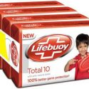 Lifebuoy total 10 125g (pack of 4) value pack  (4 x 125 g)