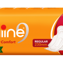 nine Dry Comfort Regular (230mm) Sanitary Napkins – 06Pads