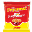 Fryums Ready to Fry – Panipuri Papad Cereal  – 150g