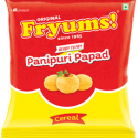 Fryums Ready to Fry – Cereal Papad  – 150g