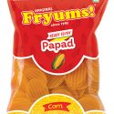 Fryums Ready to Fry – Corn Papad  – 150g