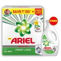Ariel Front Load Detergent Combo – Washing Powder 3 kg + 500 ml Matic Liquid Free