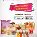 Cow Apple Ponni + Monthly Grocery (39 Products)