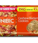 Unibic Cashew Badam Cookies – 300g + 300g (Buy 1 Get 1 Free)