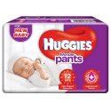 Huggies Wonder Pants Extra Small / New Born (XS / NB) Size Diaper Pants – 12 Nos