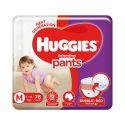 Huggies Wonder Pants Medium (M) Size Baby Diaper Pants – 76 Nos