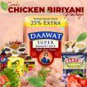 Chicken Briyani Combo – Daawat 1.25 Kg