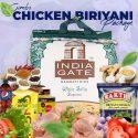 Chicken Briyani Combo – India Gate White Sella