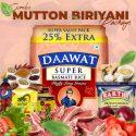 Mutton Briyani Combo – Daawat